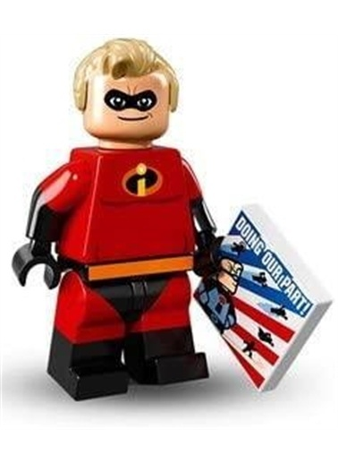 Lego Lego Minifigür - Disney Seri - 71012 - Mr. Incredible Renkli